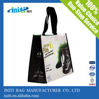 ECO material utility best selling paper shopping bag with ribbon handle
