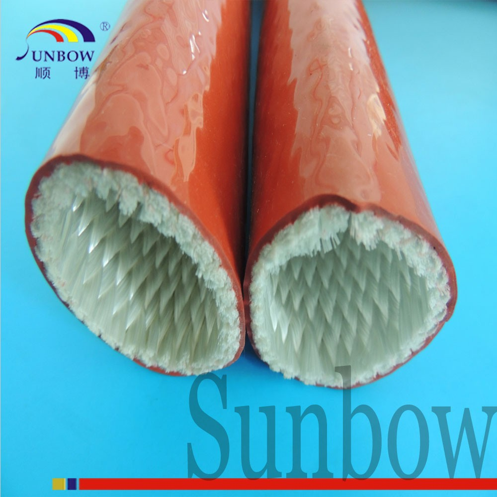 With UL Flame Retardant 10.0KV High Voltage Braided Fiberglass Insulation Sleeving