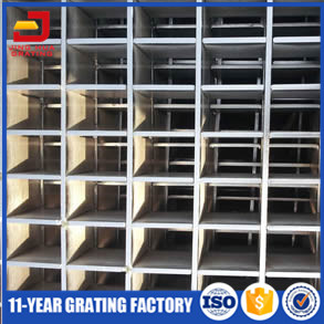 Welded Dovetail Pressure Locked Steel Grating Panels