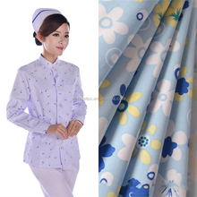 High Quality polyester/cotton 65*35 T/C Twill medical uniform types of twill fabric