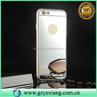 Fashion Ultra Thin Clear TPU Mirror Case For Iphone 6 Soft Protective