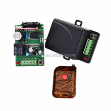 Wireless RF Remote Control Switch DC 12V 10A 1CH 1000M Transmitter With Battery+ Receiver+Case YET-401