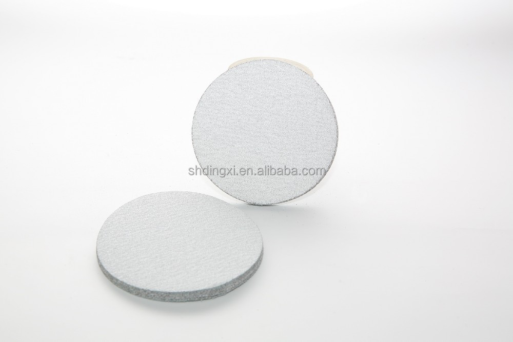 hot sale dry stearate top coat white abrasive disc sanding paper