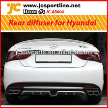 For 2011-12 Hyundai Elantra (Avante) MD new style Rear bumper diffuser with painted pad