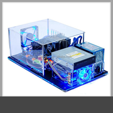 transparent acrylic computer pc anime case