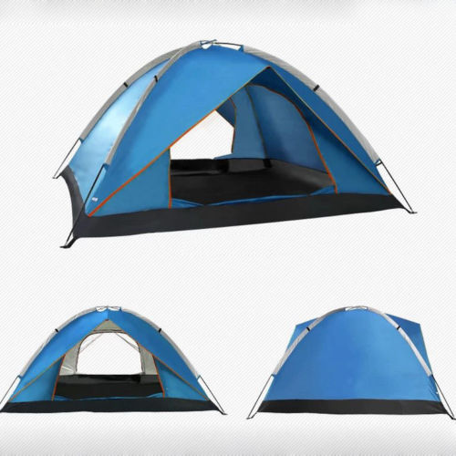 Outdoor Camping Waterproof 3 Season 2 person folding tent