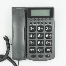 Big button corded id telephone set