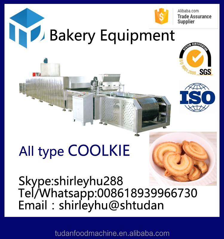 china factory bakery machines huayuan cookie production line automatic cookie making machine