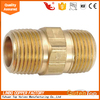 Brass male hose nipple/coupling/ hex nipple