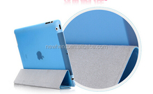 Cross Jeans Pattern Smart Leather Cover+Transparent Back Case For ipad air 5