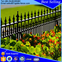 Cheap Used Decorative Wrought Iron Garden Fence Panels