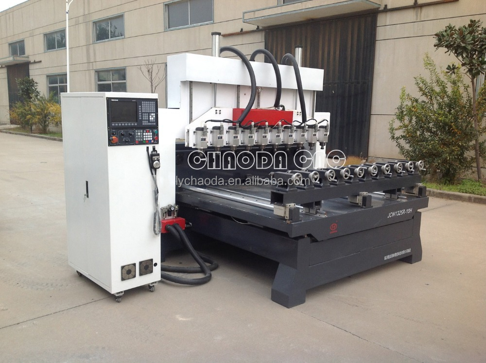 cnc multi spindle 4 axis/rotary engraving machine/wood turning machine for 3d