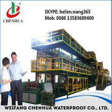 Made in china SBS modified bitumen waterproofing membrane production line