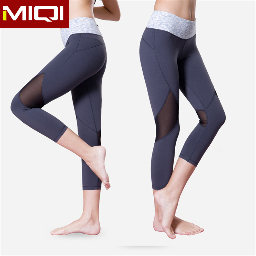 2016 High Quality Sportswear Wholesale Custom Fitness Tights Compression Breathable Yoga Pants