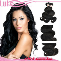 Hot Sale Cheap Human Hair Extension Body Wave Indian Remy Gray Hair