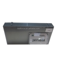 24V 100Ah deep cycle LiFePO4 Offline UPS backup li-ion battery pack for bus station