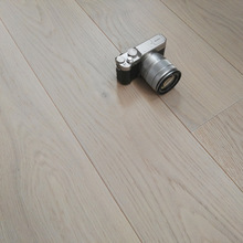 3-ply white color oak engineered parquet wood flooring
