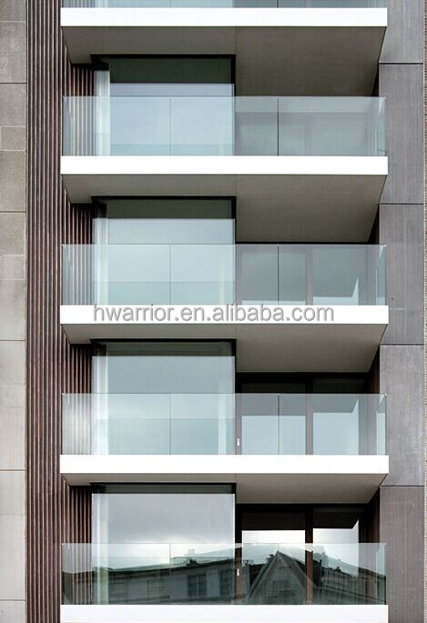 visualized glass frame bullet proof curtain wall system