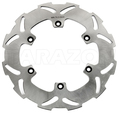 motorcycle rear solid brake disc rotor for Husaberg