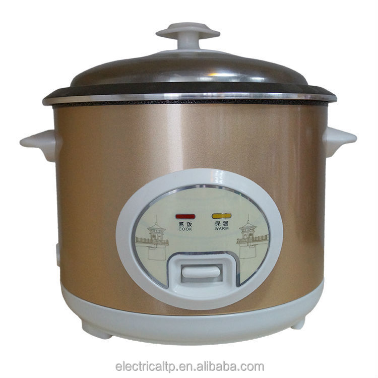 mini electric stainless steel rice cooker 2.8L without steamer