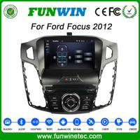 Funwin HD 1024*600 Android Car Radio For Ford Focus 2012 car dvd player with Wifi 3G