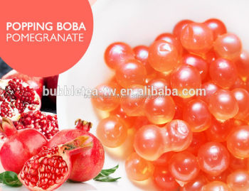 POPPING BOBA POMEGRANATE FLAVOR,FRUIT JUICE BALL POPPING BOBA