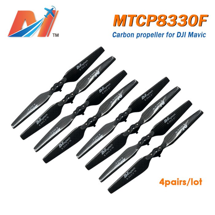 Maytech (2sets) 8330 carbon propeller for DJI Mavic and prop guards for Mavic Pro DJI Mavic