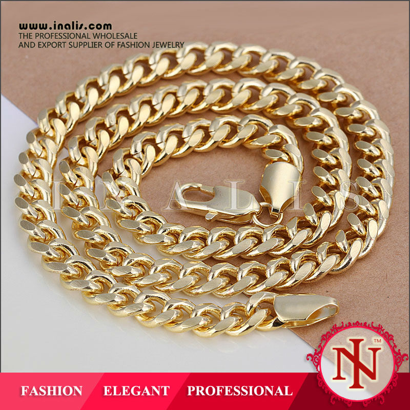2014 Jay Z cuban link chain hip hop necklace N238
