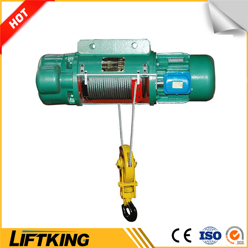 LIFTKING 1T mini MD1 cylinder style light duty electric wire rope hoist
