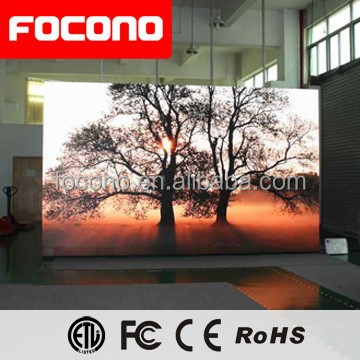 Stage Events/Exhibition High Definition P4mm LED Video Screen For Indoor