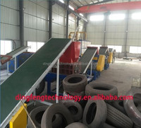 latest technology Scrap Tractor Tire Rubber Powder Production Line