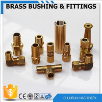 high quality brass nipple push fit pipe fittings hydraulic connect