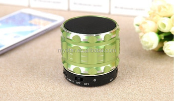 China supplier Portable Mini Bluetooth Speakers Metal Steel Wireless Smart Hands Free Speaker With FM Radio Support SD Card