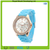 Fashion Designs Womens Geneva Silicone Wrist Watch