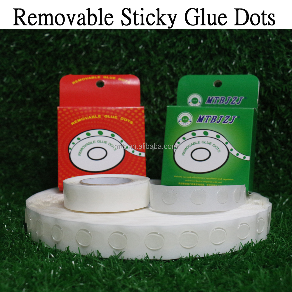 Removable Stikcy Glue dots for Fixing Catalogue