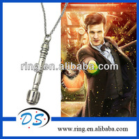 Exclusive Doctor Who Sonic Screwdriver the 10th Doctor Interpreted Charmed Necklace