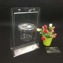 Professional customized plastic clear blister packs vs clamshell packages for filters