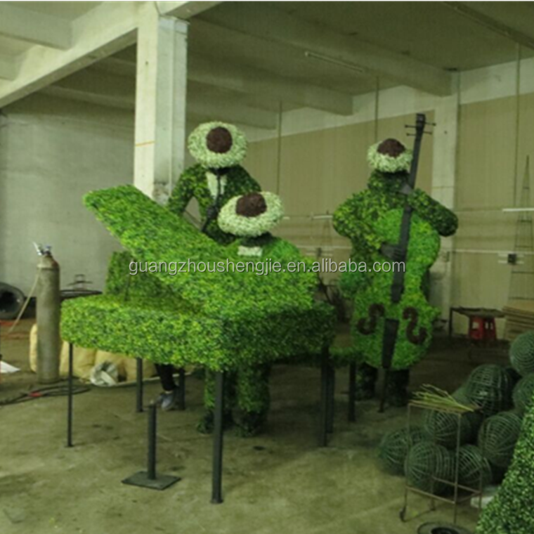 Artificial Topiary Wire Frames Animal Garden Landscaping Decoration ...