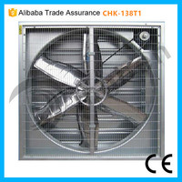 Industrial Air Ventilation System Automatic Shutter Exhaust Fan