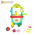 Kids role play game fruit shop store toy kitchen sets