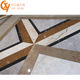 High quality natural granite flooring border design and marble flooring corner designs,waterjet medallion