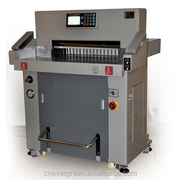 Popular automatic electric guillotine paper cutter,720mm guillotina Papel