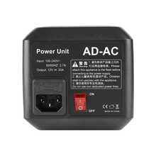 Godox AD-AC AC Power Unit Source Adapter with Cable for AD600B AD600BM AD600M AD600