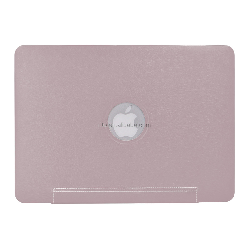 Case For Pink Macbook 12, Luxury PU Leather Case for Macbook New 12