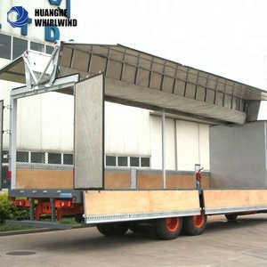JAC 8 tons Loading and Offloading Cargo Van Truck, Wing Body Truck For Sale