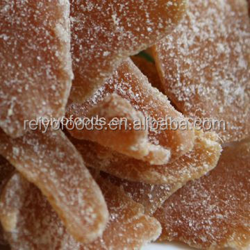 supply crystallized dried red ginger products