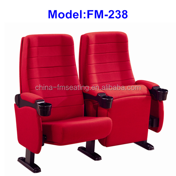 FM-238 Folding upholstery reclining cinema chairs