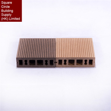 New Customized wood plastic composite WPC decking outdoor products decking building materials for house hot sale