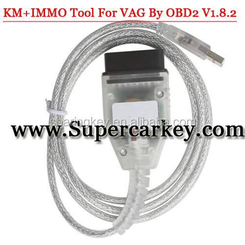 Best price Xhorse KM+IMMO Tool For VAG By OBD2 V1.8.2 Latest Version With Multi languages