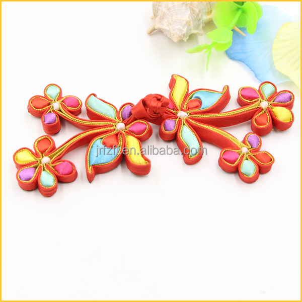 Chinese knot frog closure buttons